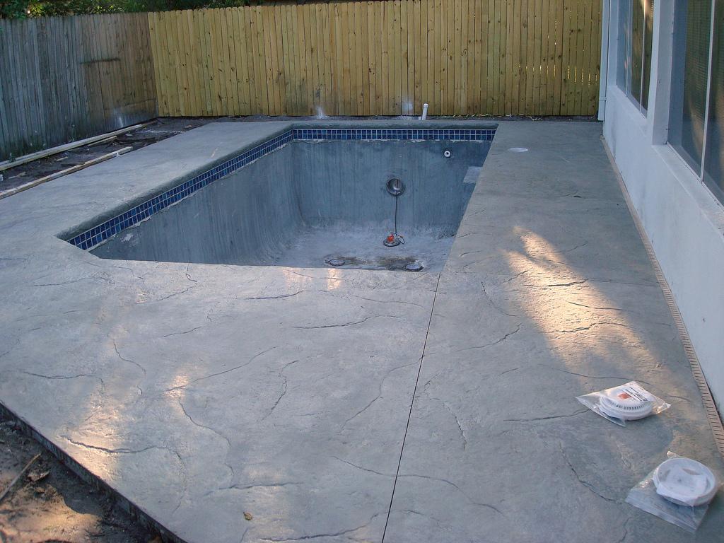 pool installation Houston